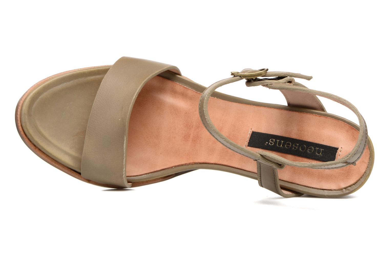 Sandales et nu-pieds Neosens Altesse S466 Vert vue gauche