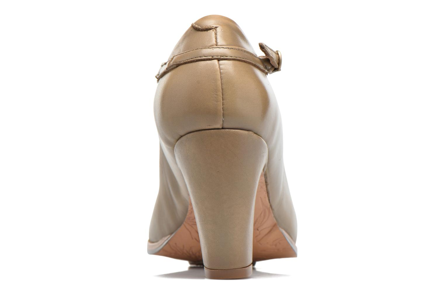 High heels Neosens Altesse S467 Beige view from the right