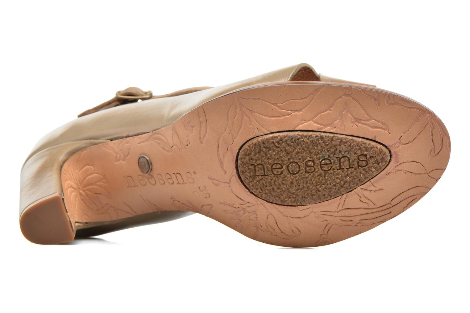 High heels Neosens Altesse S467 Beige view from above