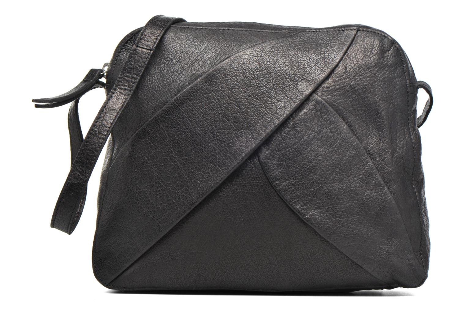 Dacil Leather Cross Over Bag Exp Black
