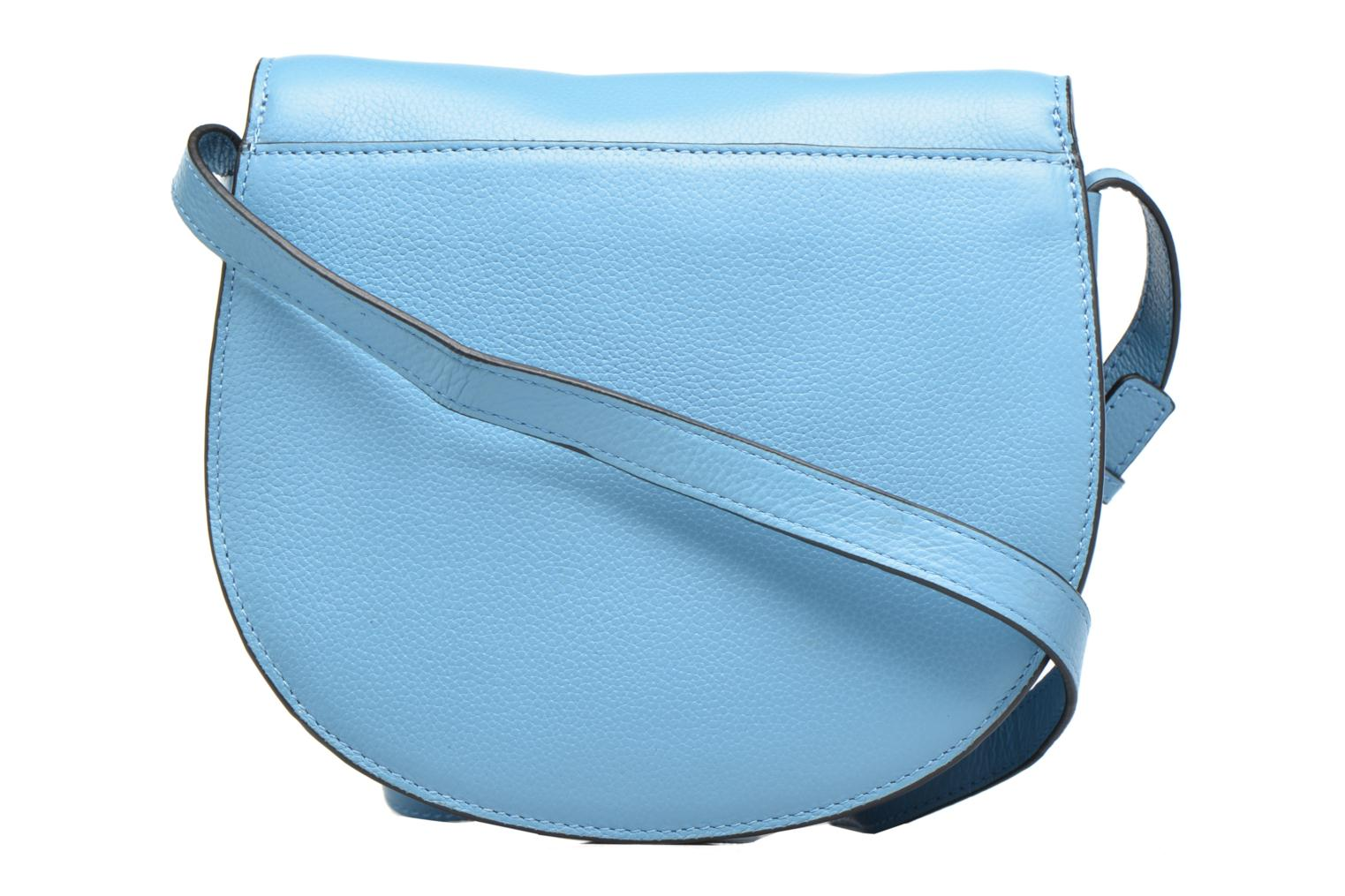 Sacs à main Pieces Falala Leather Cross Body Bleu vue face