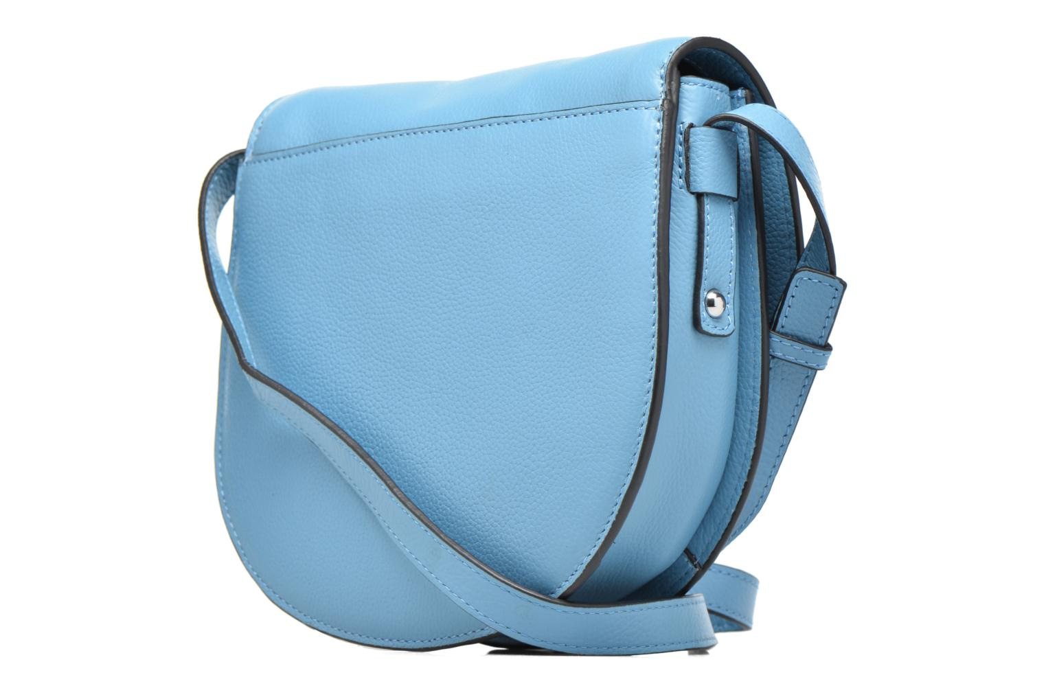 Sacs à main Pieces Falala Leather Cross Body Bleu vue droite