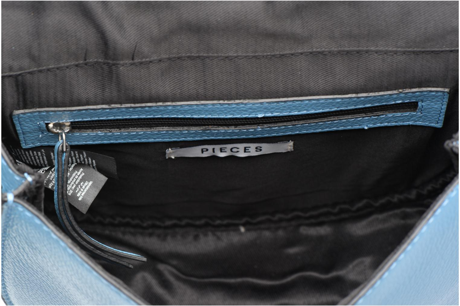 Sacs à main Pieces Falala Leather Cross Body Bleu vue derrière