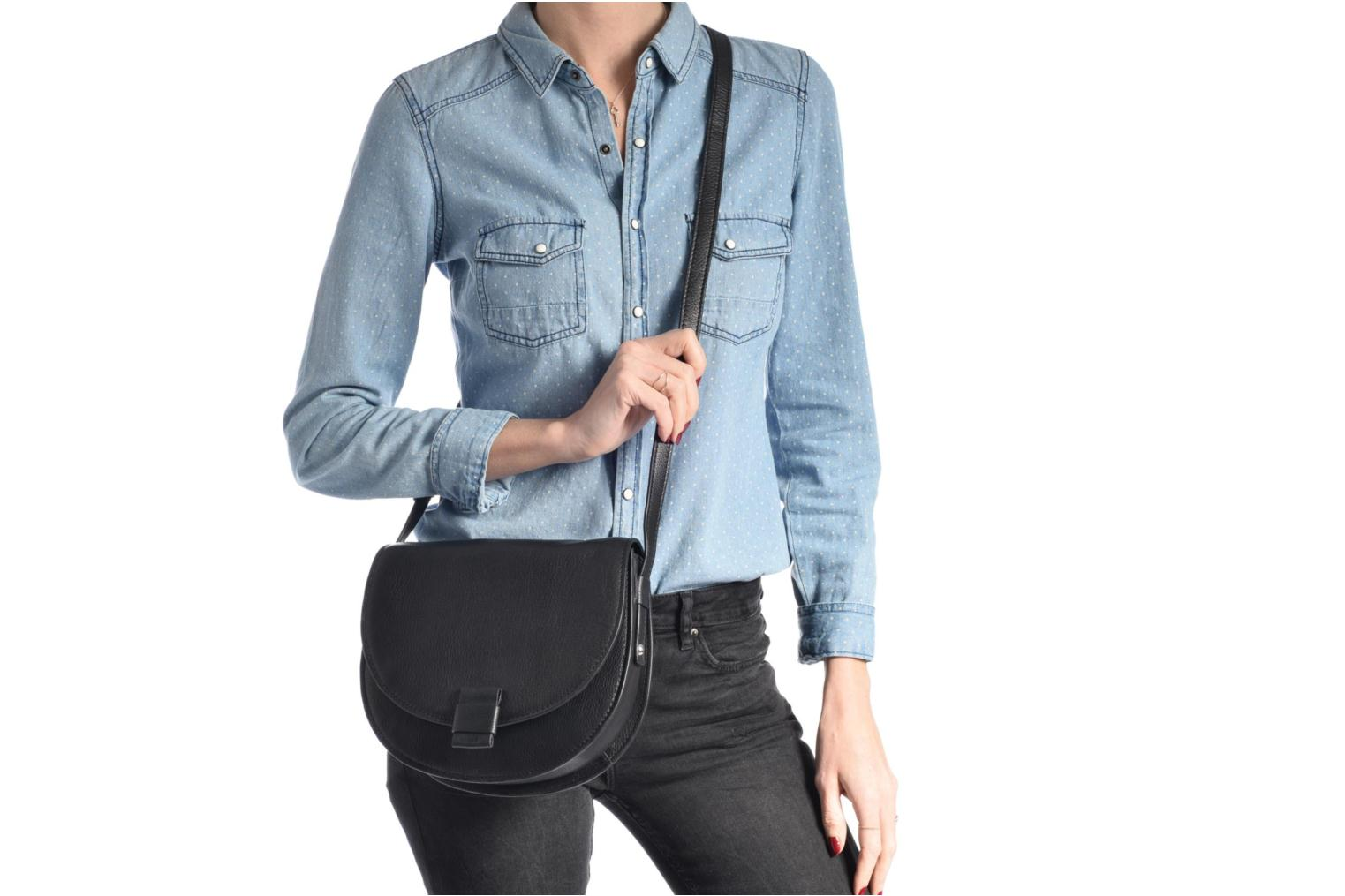 Sacs à main Pieces Falala Leather Cross Body Bleu vue haut