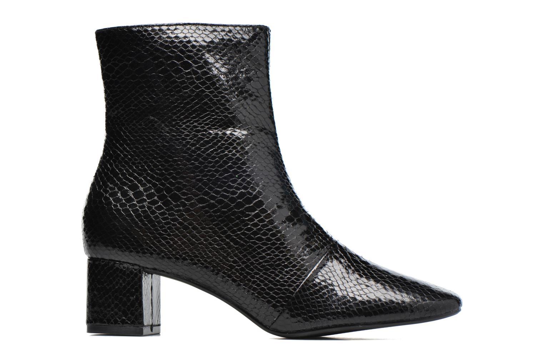 Bottines et boots Pieces Danny Boot Snake Black Noir vue derrière