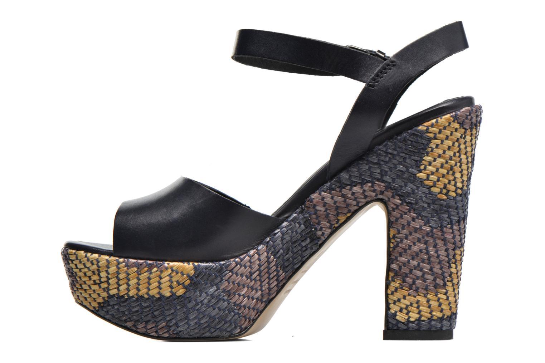 Sandales et nu-pieds Elizabeth Stuart Dorine Bleu vue face