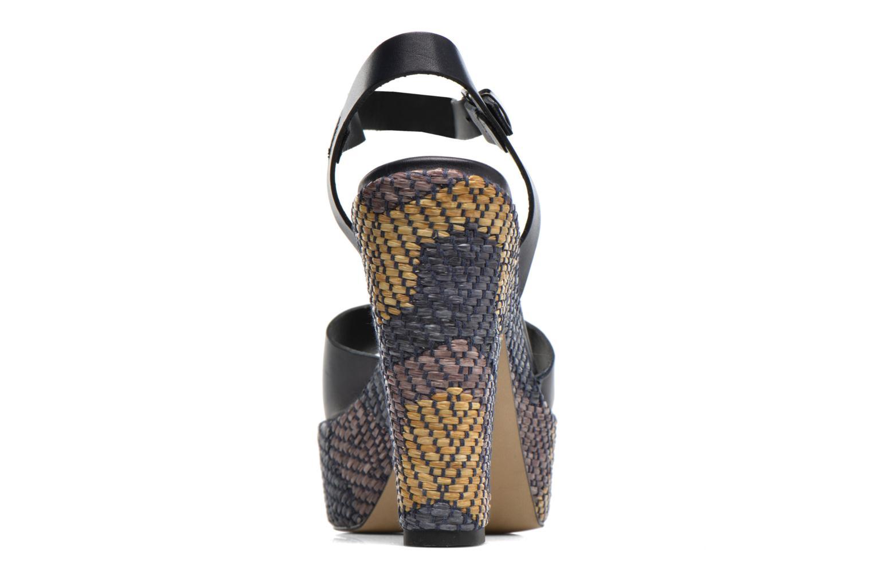 Sandales et nu-pieds Elizabeth Stuart Dorine Bleu vue droite