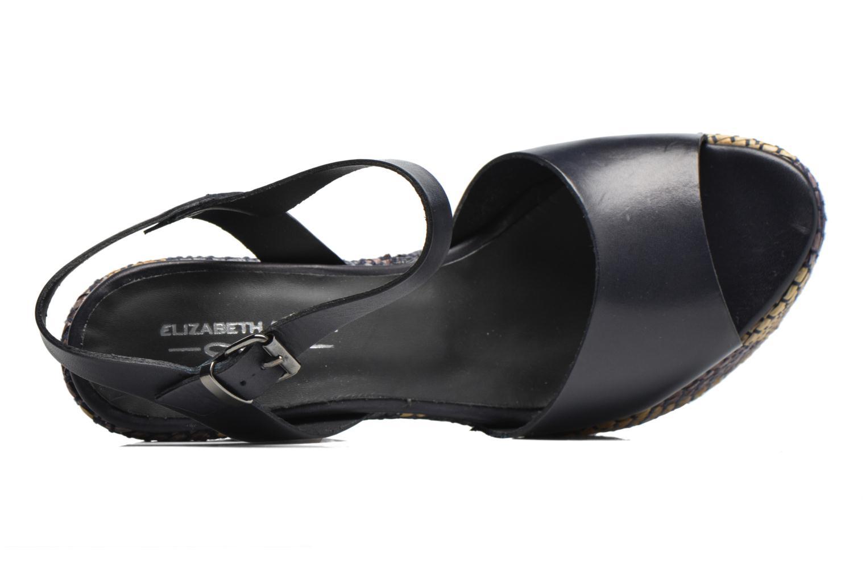 Sandales et nu-pieds Elizabeth Stuart Dorine Bleu vue gauche