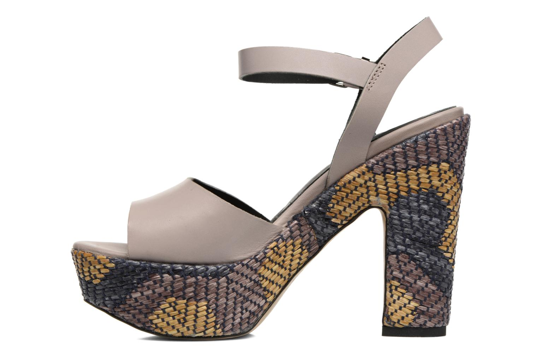 Sandali e scarpe aperte Elizabeth Stuart Eugenie Beige immagine frontale