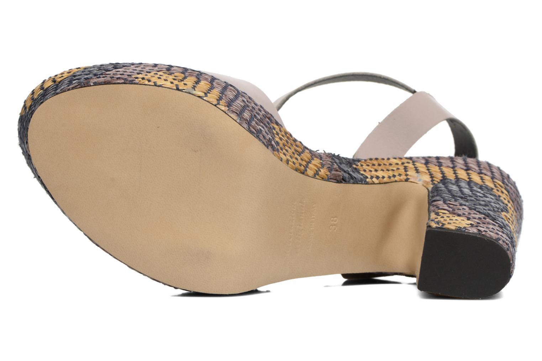 Sandali e scarpe aperte Elizabeth Stuart Eugenie Beige immagine dall'alto