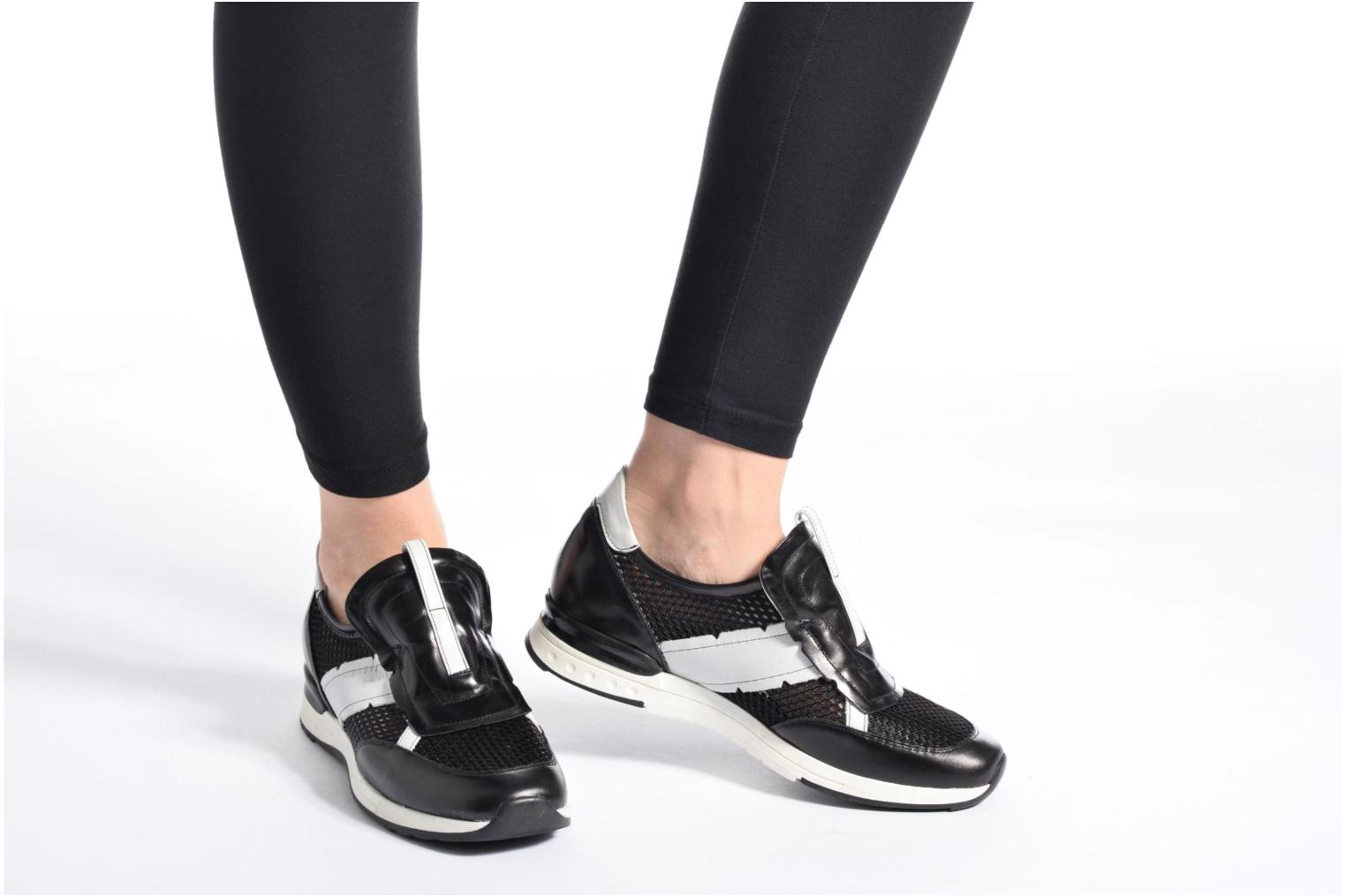 Trainers Elizabeth Stuart Galia 986 Black view from underneath / model view