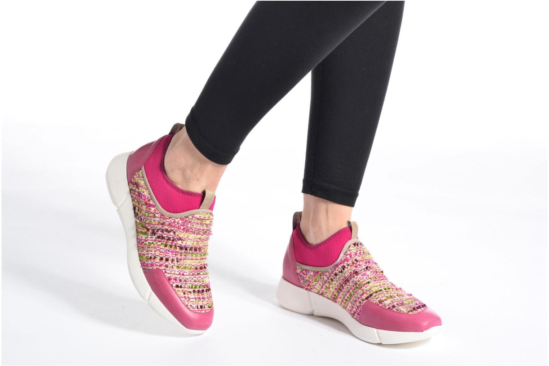 Sneaker Elizabeth Stuart Goa 988 rosa ansicht von unten / tasche getragen