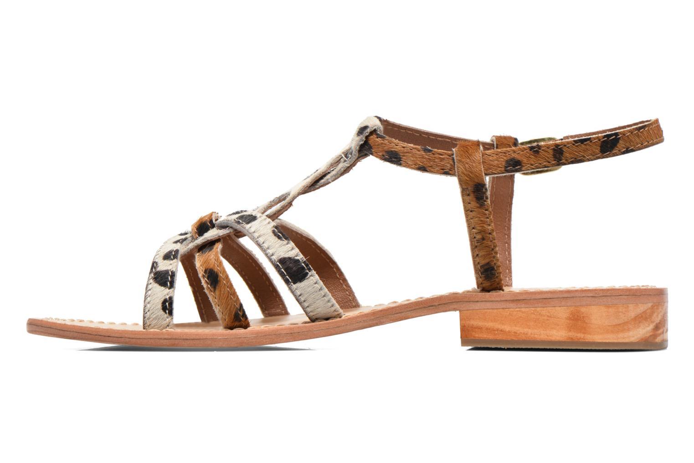 Sandales et nu-pieds Elizabeth Stuart Hoton 685 Beige vue face