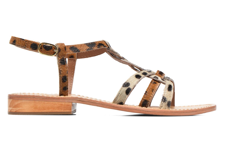 Sandales et nu-pieds Elizabeth Stuart Hoton 685 Beige vue derrière