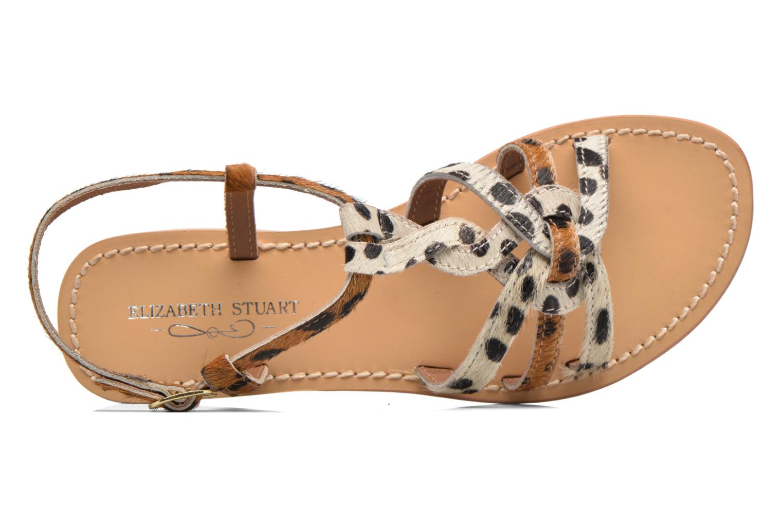 Sandales et nu-pieds Elizabeth Stuart Hoton 685 Beige vue gauche