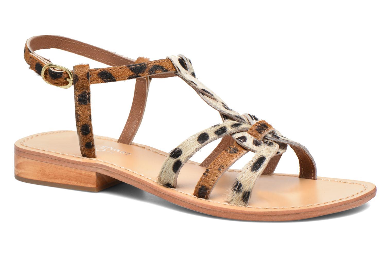 Sandales et nu-pieds Elizabeth Stuart Hoton 685 Beige vue détail/paire