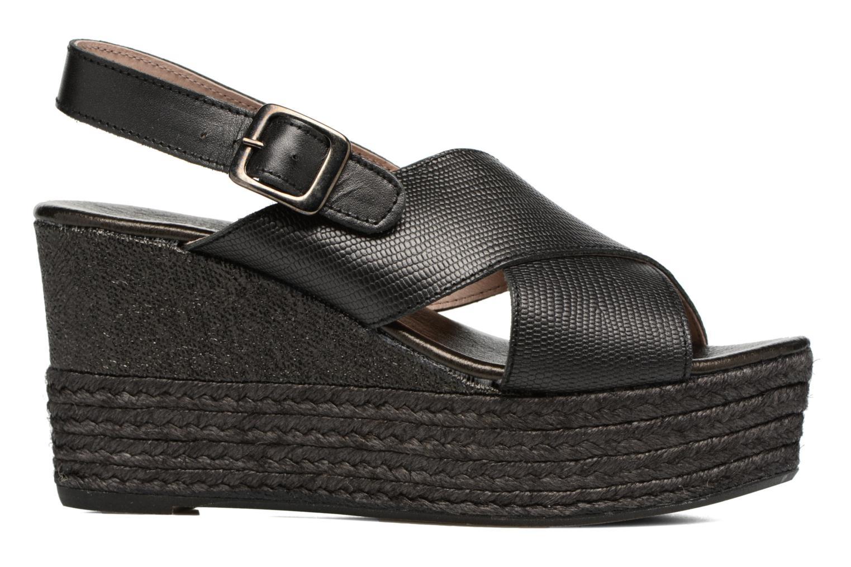 Sandales et nu-pieds Elizabeth Stuart Lotto 859 Noir vue derrière