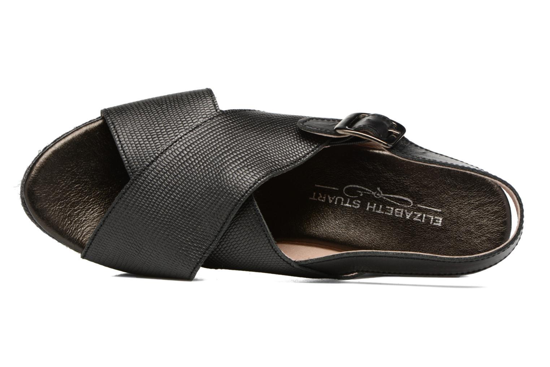 Sandales et nu-pieds Elizabeth Stuart Lotto 859 Noir vue gauche