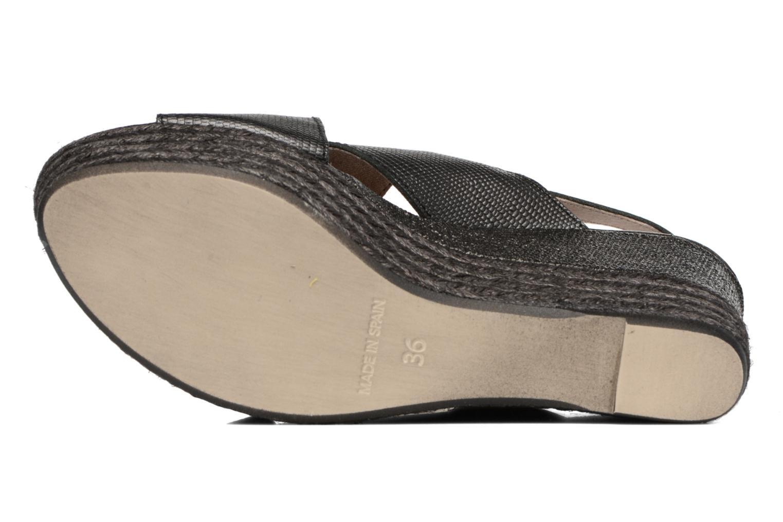 Sandales et nu-pieds Elizabeth Stuart Lotto 859 Noir vue haut