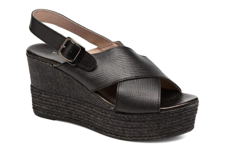 Sandales et nu-pieds Elizabeth Stuart Lotto 859 Noir vue détail/paire