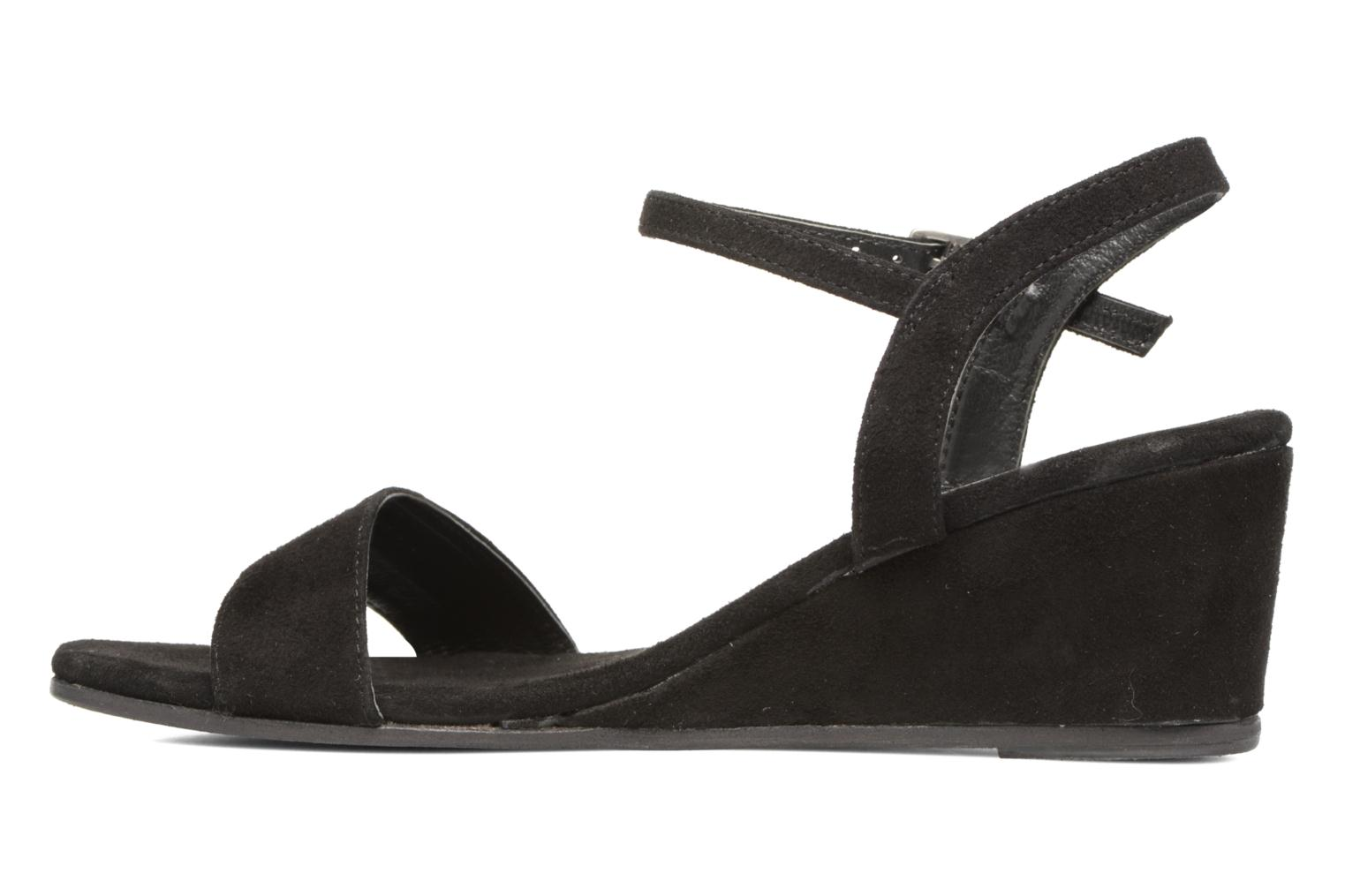 Sandals Elizabeth Stuart Seto 606 Black front view