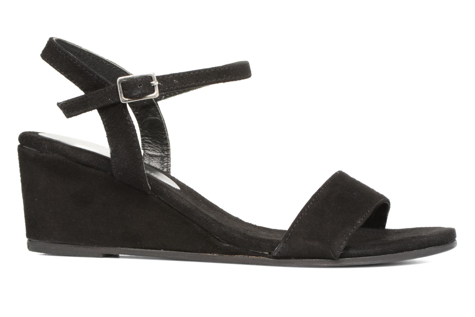 Sandals Elizabeth Stuart Seto 606 Black back view