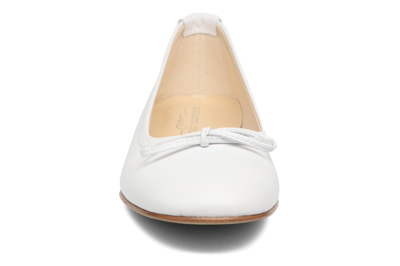 Ballerines Elizabeth Stuart Wilo 304 Blanc vue portées chaussures