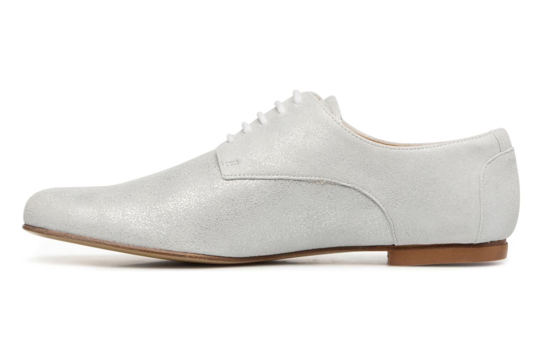 Chaussures à lacets Elizabeth Stuart Isere 415 Blanc vue face