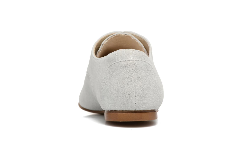 Chaussures à lacets Elizabeth Stuart Isere 415 Blanc vue droite