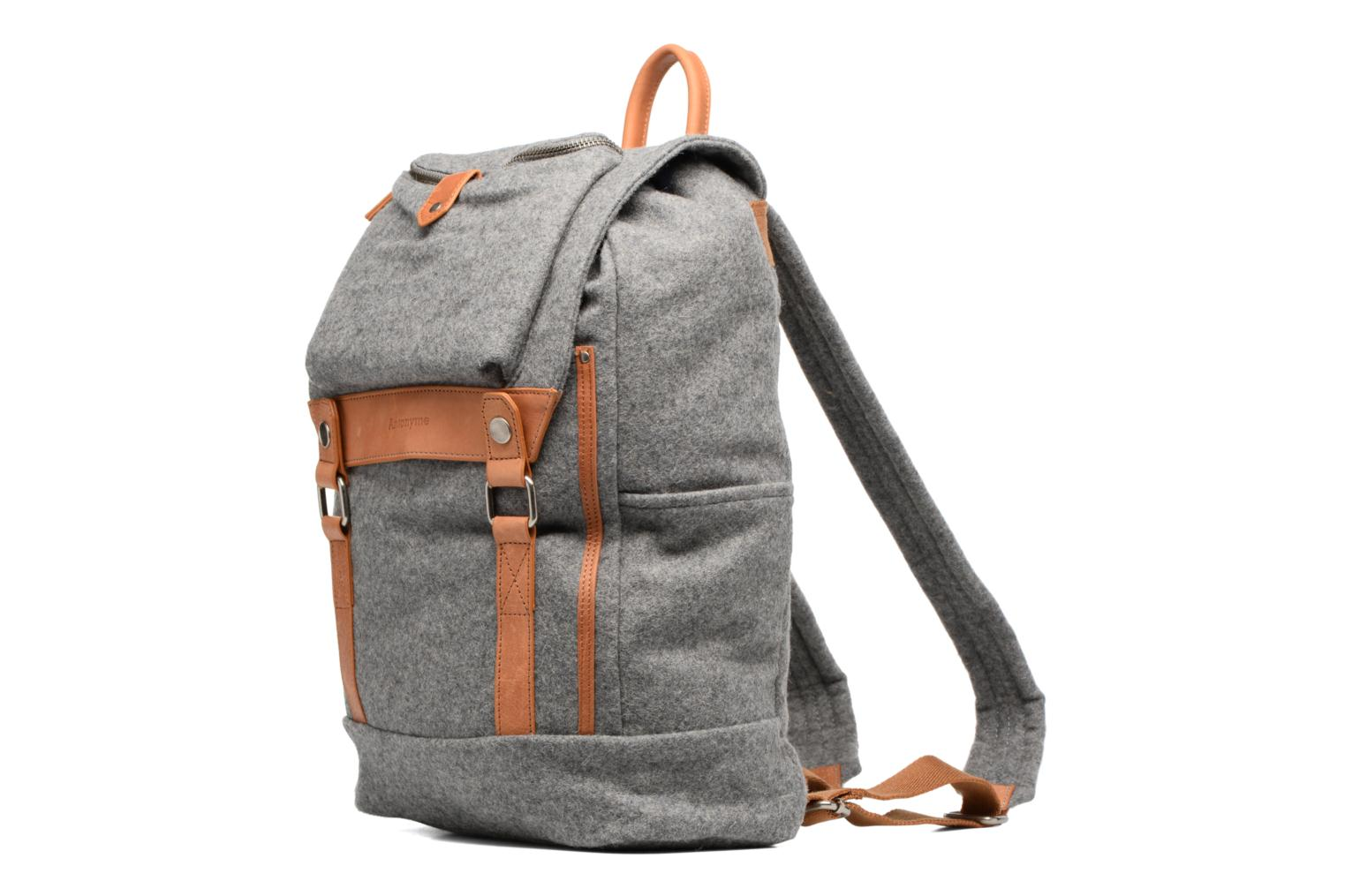 Rucksacks Antonyme by Nat & Nin Sac à dos Aaron Laine Grey model view