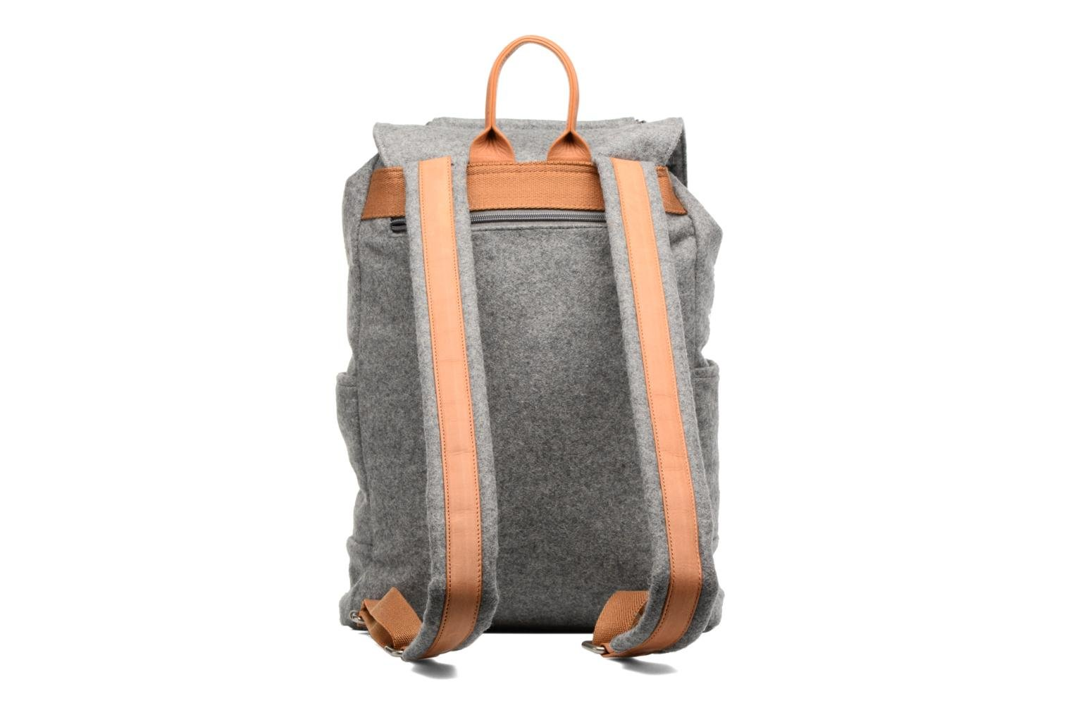 Rucksacks Antonyme by Nat & Nin Sac à dos Aaron Laine Grey front view