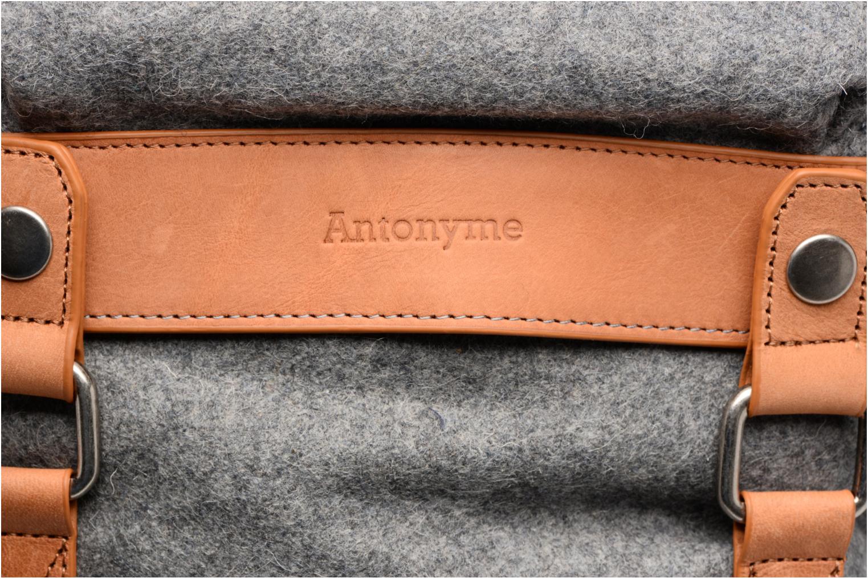 Sacs à dos Antonyme by Nat & Nin Sac à dos Aaron Laine Gris vue gauche