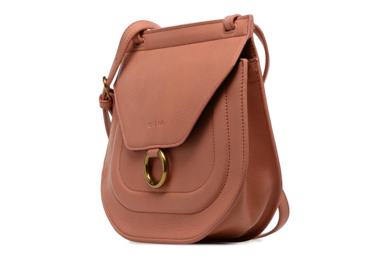Handtaschen Nat & Nin Anja rosa schuhe getragen