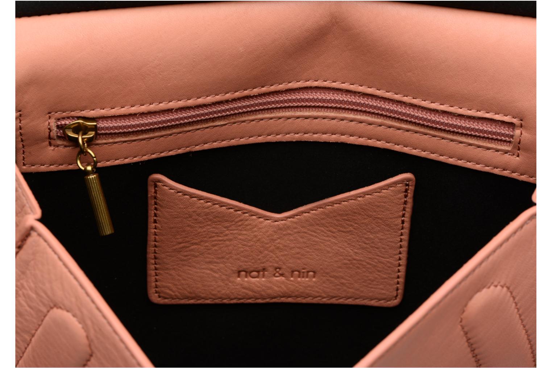 Handväskor Nat & Nin Anja Rosa bild från baksidan