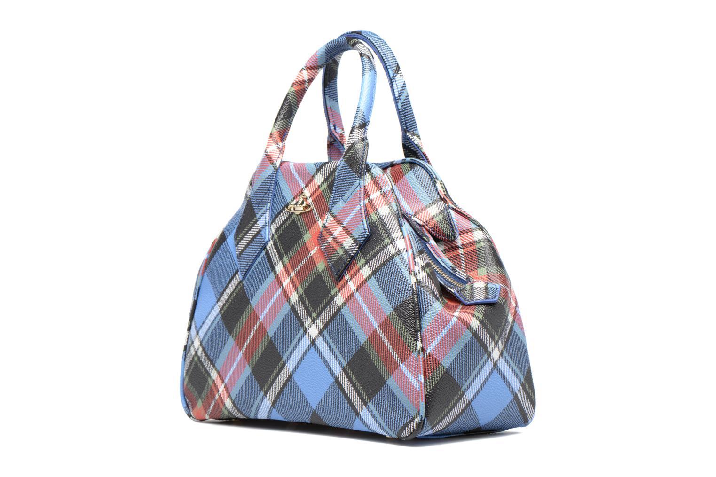 Handtaschen Vivienne Westwood Porté main Tartan Derby mehrfarbig schuhe getragen