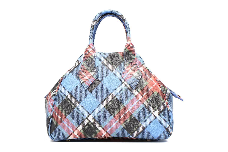 Handtaschen Vivienne Westwood Porté main Tartan Derby mehrfarbig ansicht von vorne