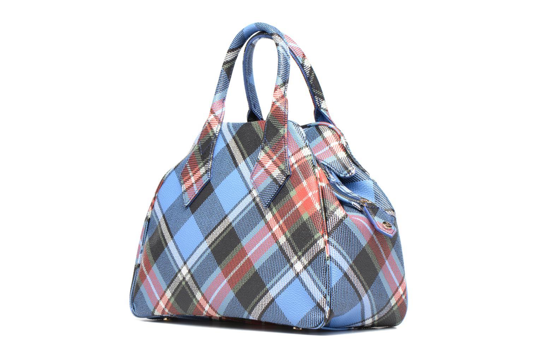 Handtaschen Vivienne Westwood Porté main Tartan Derby mehrfarbig ansicht von rechts