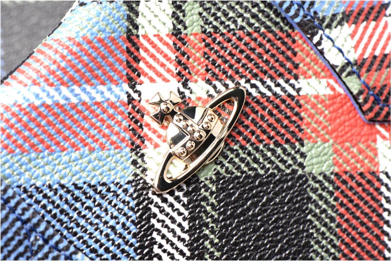 Handtaschen Vivienne Westwood Porté main Tartan Derby mehrfarbig ansicht von links