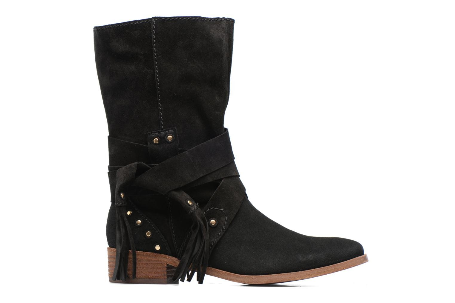 Ankle boots See by Chloé Dasha Black back view
