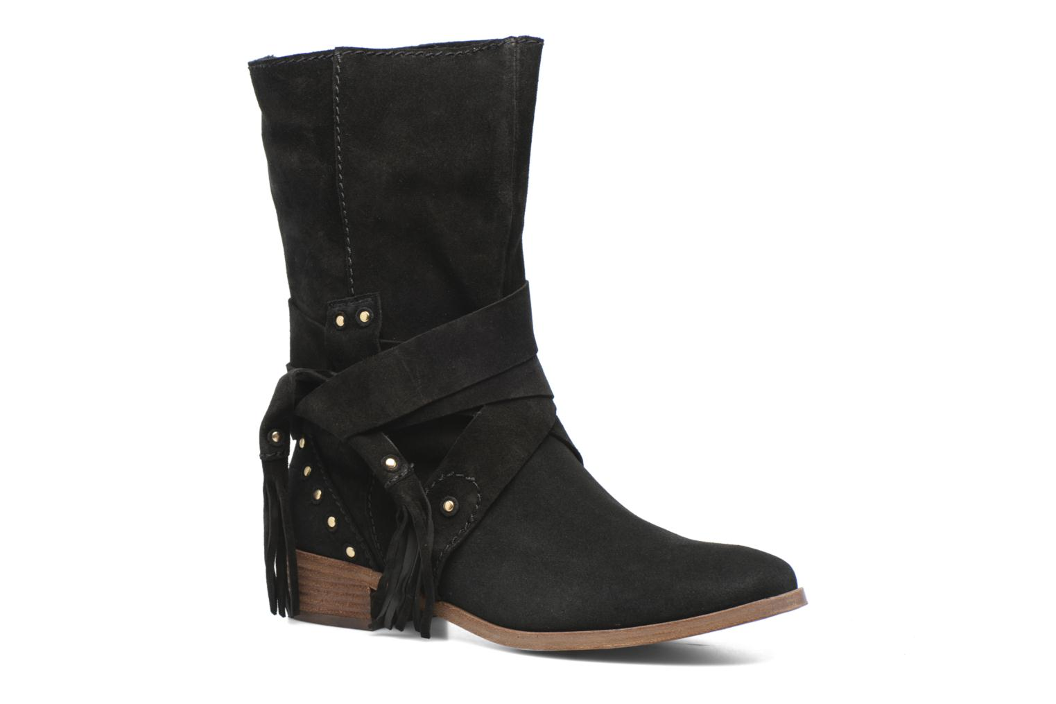 Ankle boots See by Chloé Dasha Black detailed view/ Pair view
