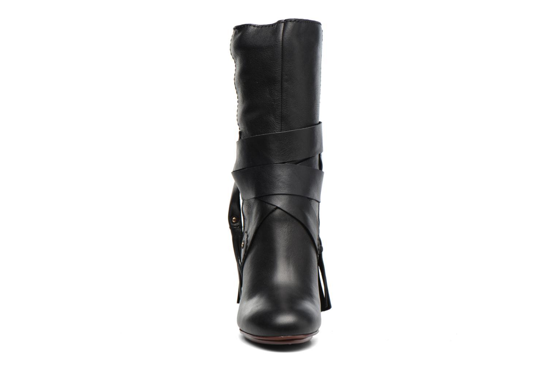 Bottines et boots See by Chloé Dasha High Boot Noir vue portées chaussures
