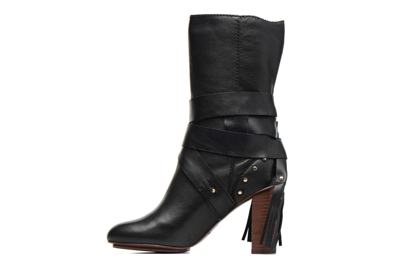 Bottines et boots See by Chloé Dasha High Boot Noir vue face