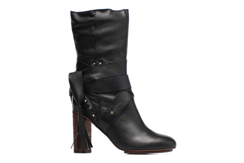 Bottines et boots See by Chloé Dasha High Boot Noir vue derrière