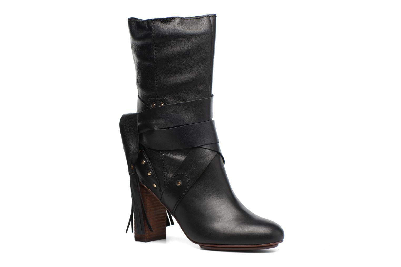 Bottines et boots See by Chloé Dasha High Boot Noir vue détail/paire
