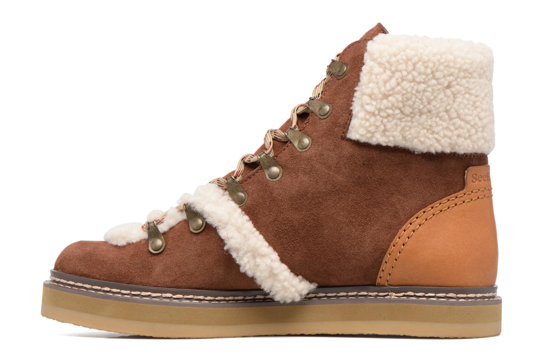 Bottines et boots See by Chloé Eileen Marron vue face