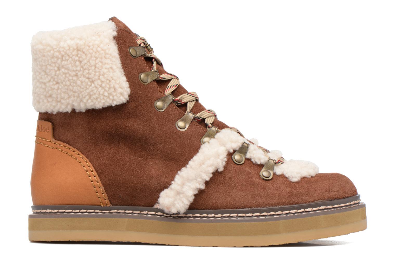Bottines et boots See by Chloé Eileen Marron vue derrière