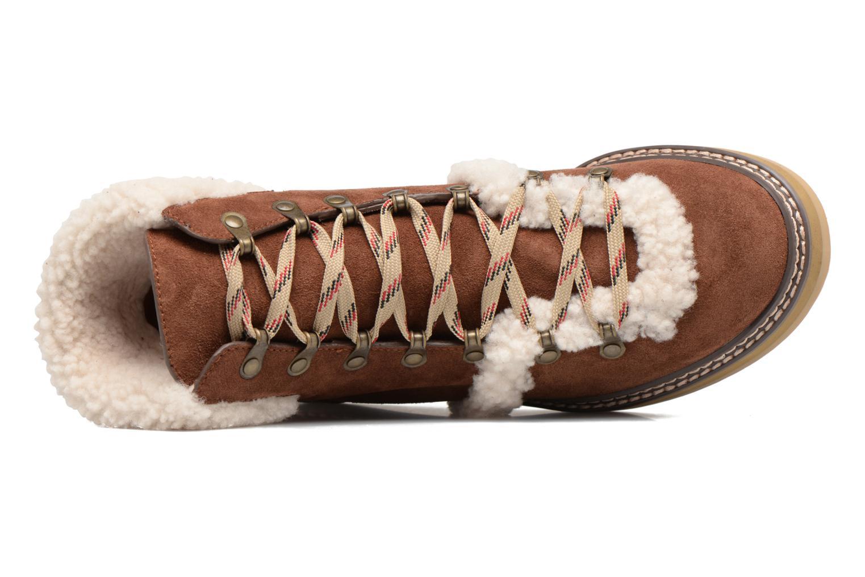 Bottines et boots See by Chloé Eileen Marron vue gauche