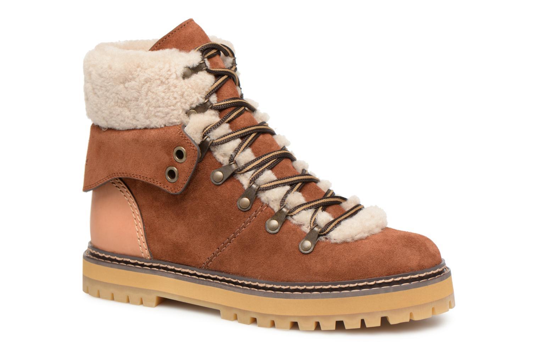 Grandes descuentos últimos zapatos See by Chloé Eileen (Marrón) - Botines  Descuento
