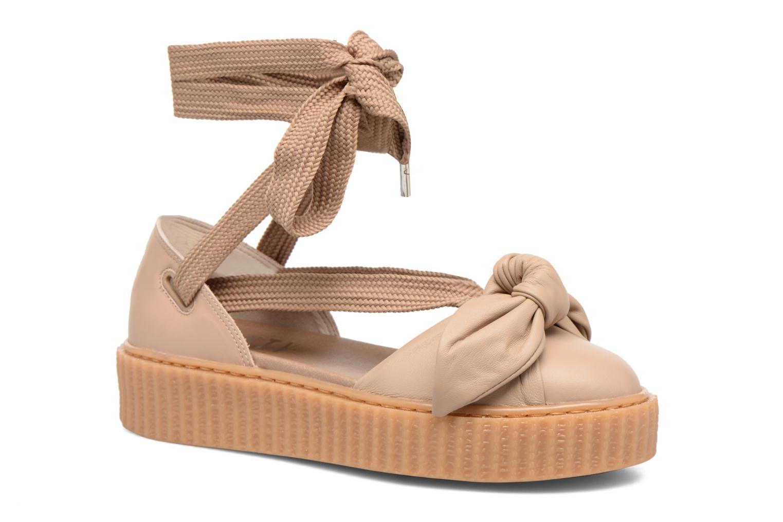 Zapatos promocionales Puma FTY BOW CREEPER SAND (Marrón) - Sandalias   Descuento de la marca