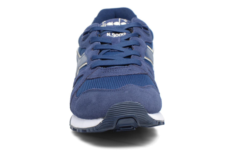 Sneaker Diadora N9000 III blau schuhe getragen